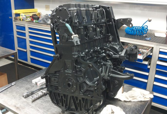 GM Forklift Engine