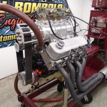 469 Big Block Blower Engine