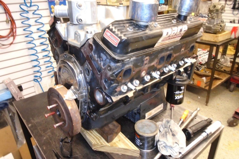 RUSH Racing Engine